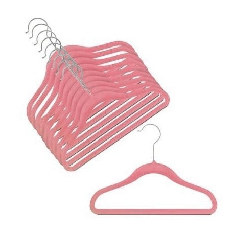 Slimline Rose/Pink Childrens Hangers