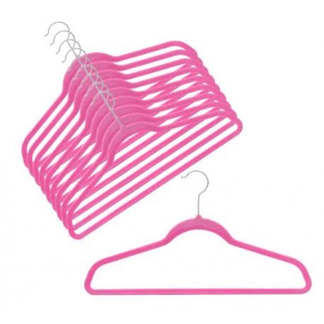 SlimLine Hot Pink Pant Hanger