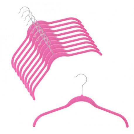 SlimLine Hot Pink Shirt Hanger