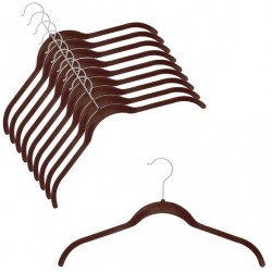 SlimLine Brown Shirt Hanger