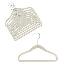 Slimline Linen/Grey Childrens Hangers