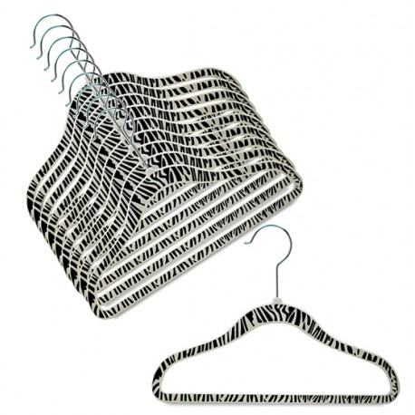 "SlimLine ""Zebra"" Print Kids Hanger"