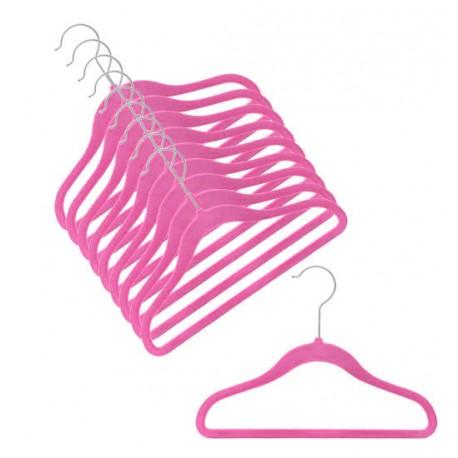 Slimline Bubble Gum Pink Kids Hanger