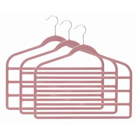 SlimLine Pink Multi Pant Hanger