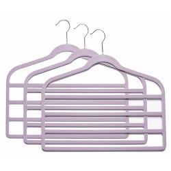 SlimLine Lavender Multi Pant Hanger
