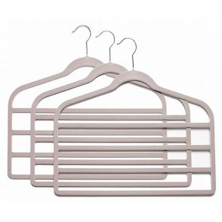 SlimLine Lavender/Gray Multi Pant Hangers