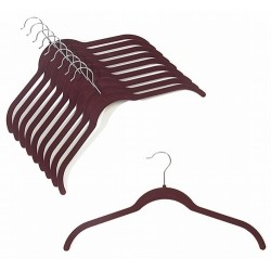 SlimLine Burgundy Shirt Hanger